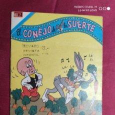 Tebeos: EL CONEJO DE LA SUERTE. Nº 493. SERIE AGUILA. NOVARO.. Lote 290188673