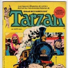 Tebeos: TARZAN Nº 10 (HITPRESS 1980). Lote 290424603