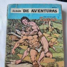 Tebeos: ÁLBUM DE AVENTURAS DE TARZÁN . NÚMERO 2. SERIE ÁGUILA. NOVARO. 1978. INENCONTRABLE. Lote 290685123