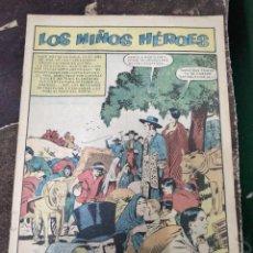 Tebeos: EPOPEYA # 1, EDITORIAL NOVARO MEXICO (EDICIONES RECREATIVAS), AÑO 1958, PRESENTA LOS NIÑOS HEROE. Lote 290896193