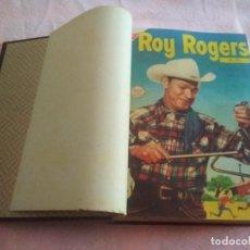 Tebeos: TOMO RETAPADO ROY ROGERS DE 21 COMICS EDITORIAL REVISTA SEA (ORIGINAL DE ÉPOCA) AÑOS 1955 A 1957. Lote 290958643