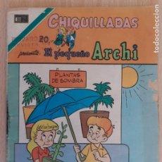 Tebeos: CHIQUILADAS Nº 2-556. EL PEQUEÑO ARCHI. NOVARO SERIE AGUILA 1977. Lote 291519023