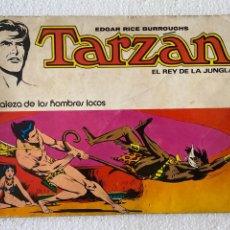 Tebeos: TARZAN EL REY DE LA JUNGLA #5 -LA FORTALEZA DE LOS HOMBRES LOCOS- NOVARO 1977. Lote 291859223