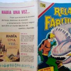 Tebeos: RELATOS FABULOSOS 98 (1967) - ED. NOVARO - MÉXICO - MUY BUEN ESTADO. Lote 291931423