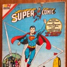 Tebeos: SUPERCOMIC - Nº 2 - 282. SUPERMAN. NOVARO - SERIE AGUILA. 1983. Lote 292166983
