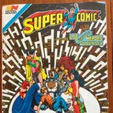 Tebeos: SUPERCOMIC - Nº 2 - 342. SUPERMAN. NOVARO - SERIE AGUILA. 1984. Lote 292168403