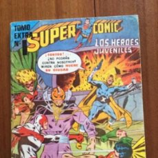 Tebeos: SUPERCOMIC - Nº 199/25. SUPERMAN. NOVARO - SERIE AGUILA. TOMO EXTRA, Nº 1.. Lote 292174373