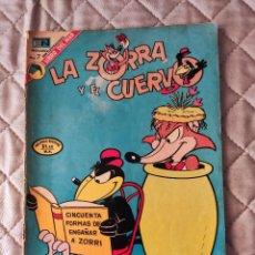 Tebeos: LA ZORRA Y EL CUERVO Nº 319 NOVARO. Lote 292215238