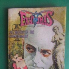 Tebeos: FANTOMAS LA AMENAZA ELEGANTE VOLUMEN III LIBRO COMIC NOVARO. Lote 293195208