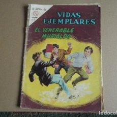 Tebeos: NOVARO VIDAS EJEMPLARES Nº 164 ELVENERABLE MURIALDO 1964. Lote 293209693