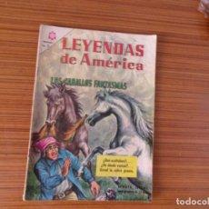 Tebeos: LEYENDAS DE AMERICA Nº 125 EDITA NOVARO. Lote 293350113