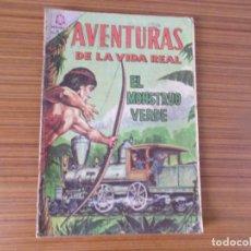 Tebeos: AVENTURAS DE LA VIDA REAL Nº 112 EDITA NOVARO. Lote 293352208