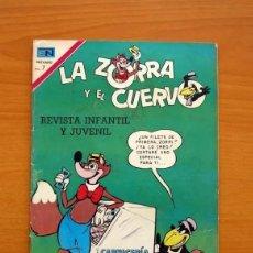 Tebeos: LA ZORRA Y EL CUERVO, Nº 249 - EDITORIAL NOVARO, REVISTA INFANTIL Y JUVENIL. Lote 293433538