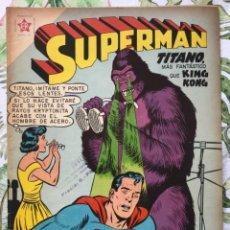 Tebeos: SUPERMAN 219 KING KONG LENTES 1959 EDICIONES RECREATIVAS NOVARO. Lote 293476023