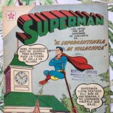 Tebeos: SUPERMAN 217 RELOJ 1959 EDICIONES RECREATIVAS NOVARO. Lote 293476478
