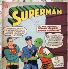 Tebeos: SUPERMAN 213 PINOCHO NARIZ POLICIA MARCIANO 1959 EDICIONES RECREATIVAS NOVARO. Lote 293478378
