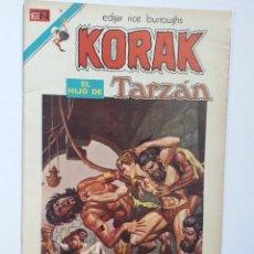 Tebeos: KORAK N° 1 - SERIE AVESTRUZ (AÑO 1975) - ORIGINAL EDITORIAL NOVARO. Lote 293912113