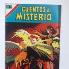 Tebeos: CUENTOS DE MISTERIO N° 1 SERIE AVESTRUZ - ORIGINAL EDITORIAL NOVARO. Lote 293912543