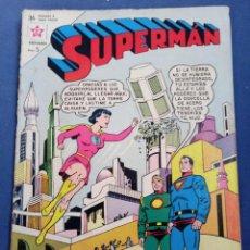 Tebeos: SUPERMAN NOVARO NÚMERO 413. AÑO 1963.. Lote 294046148