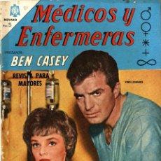 Tebeos: BEN CASEY. MEDICOS Y ENFERMERAS Nº 21 (NOVARO, MÉXICO, 1965). Lote 294064163