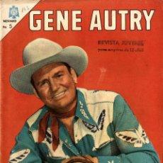 Tebeos: GENE AUTRY-147 (NOVARO, MÉXICO, 1966). Lote 294065038