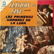 Tebeos: CLÁSICOS DEL CINE Nº 139: LOS PRIMEROS HOMBRES EN LA LUNA (NOVARO, MÉXICO, 1965). Lote 294068743