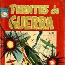Tebeos: FRENTES DE GUERRA Nº 105 (LA PRENSA, MÉXICO, 1962). Lote 294076663