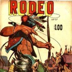 Tebeos: RODEO Nº 57 (ENS-LA PRENSA, MÉXICO, 1959). Lote 294077378