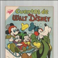 Tebeos: CUENTOS DE WALT DISNEY Nº 150. EDITORIAL NOVARO -SEA. 1956 MUY BUEN ESTADO. Lote 294093493