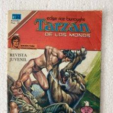 Tebeos: TARZAN DE LOS MONOS #624 - NOVARO 1979 - CON ANUNCIO RARO DE COCACOLA EN CONTRAPORTADA. Lote 294124943