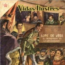 Tebeos: LOPE DE VEGA. VIDAS ILUSTRES Nº 36 (ER-NOVARO, MÉXICO, 1959). Lote 294142033