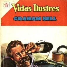 Tebeos: GRAHAM BELL. VIDAS ILUSTRES Nº 75 (ER-NOVARO, MÉXICO, 1962). Lote 294144943