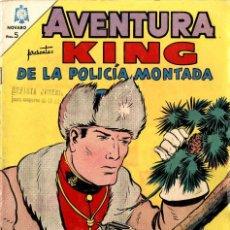 Tebeos: KING DE LA POLICÍA MONTADA. AVENTURA Nº 365 (NOVARO, MÉXICO, 1965). Lote 294159938