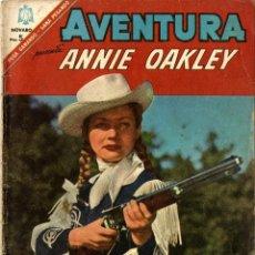 Tebeos: ANNIE OAKLEY. AVENTURA Nº 463 (NOVARO, MÉXICO, 1966). Lote 294160908