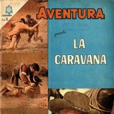 Tebeos: LA CARAVANA. AVENTURAS Nº 379 (NOVARO, MÉXICO, 1965). Lote 294163768