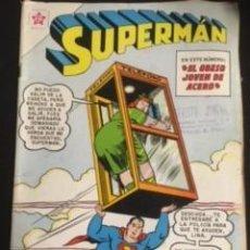 Tebeos: SUPERMAN Nº 388, EDITORIAL NOVARO, AÑO 1963, EN BUEN ESTADO. Lote 294460043