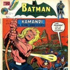 Tebeos: KAMANDI EL ULTIMO SUPERVIVIENTE. BATMAN Nº 719 (NOVARO, MÉXICO, 1974). Lote 294510798