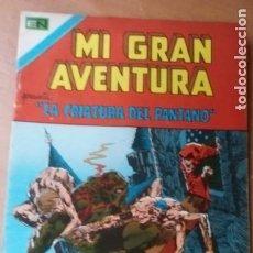 Tebeos: MI GRAN AVENTURA N. 2 EDIT NOVARO 1975 LA COSA DEL PANTANO BERNY WRIGHTSON. Lote 294974818