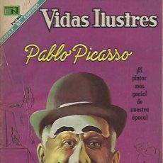 Tebeos: VIDAS ILUSTRES - NOVARO MEXICO # 194 15-SEP.-1968 PABLO PICASSO. Lote 295584368