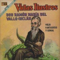 Tebeos: VIDAS ILUSTRES - NOVARO MEXICO # 200 15-DIC.-1968 DON RAMÓN MARÍA DEL VALLE-INCLÁN. Lote 295585703