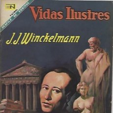 Tebeos: VIDAS ILUSTRES - NOVARO MEXICO # 202 15-ENE.-1969 J WINCKELMANN. Lote 295585908