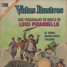 Tebeos: VIDAS ILUSTRES - NOVARO MEXICO # 203 1-FEB.-1969 LUIGI PIRANDELLO. Lote 295585988