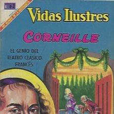 Tebeos: VIDAS ILUSTRES - NOVARO MEXICO # 204 15-FEB.-1969 CORNEILLE. Lote 295586108