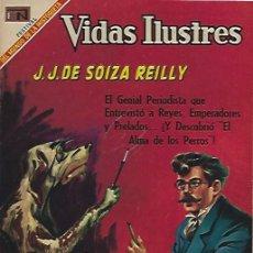 Tebeos: VIDAS ILUSTRES - NOVARO MEXICO # 207 1-ABR.-1969 J DE SOIZA REILLY. Lote 295586338
