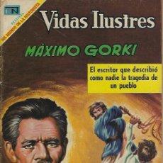 Tebeos: VIDAS ILUSTRES - NOVARO MEXICO # 214 15-JUL.-1969 MÁXIMO GORKI. Lote 295586923