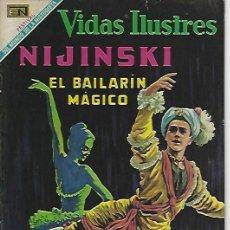Tebeos: VIDAS ILUSTRES - NOVARO MEXICO # 217 1-SEP.-1969 NIJINSKI. Lote 295587148