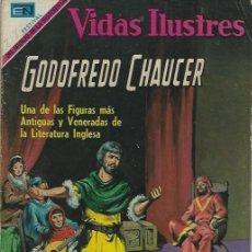Tebeos: VIDAS ILUSTRES - NOVARO MEXICO # 218 15-SEP.-1969 GODOFREDO CHAUCER. Lote 295587243