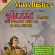 Tebeos: VIDAS ILUSTRES - NOVARO MEXICO # 223 1-DIC.-1969 BALZAC HACE UN PACTO CON EL DEMONIO. Lote 295587613