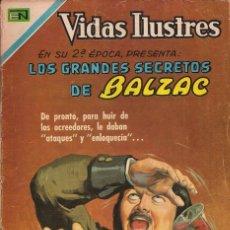 Tebeos: VIDAS ILUSTRES - NOVARO MEXICO # 224 15-DIC.-1969 BALZAC, LOS GRANDES SECRETOS DE. Lote 295587673