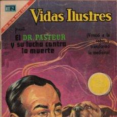 Tebeos: VIDAS ILUSTRES - NOVARO MEXICO # 253 3-FEB.-1971 LUIS PASTEUR, BENEFACTOR DE LA HUMANIDAD. Lote 295587848
